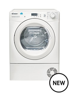 candy-cs-h8a2le-8kg-heat-pump-tumble-dryer-with-smart-touch-white