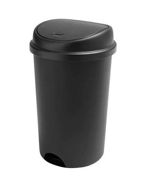 addis-touch-top-50-litre-bin-ndash-black
