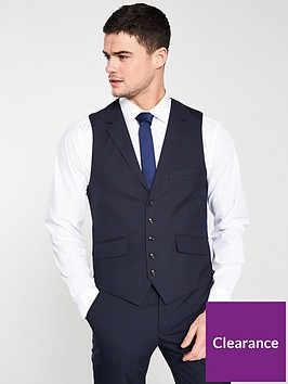 ted-baker-sterling-check-waistcoat-navy