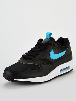 8fb85a0da3a0 Nike Air Max 1 Gel - Black Blue