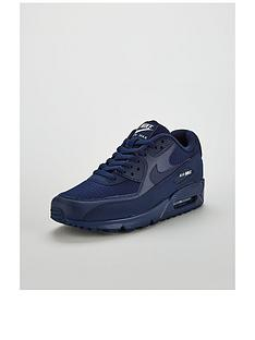 nike-air-max-90-essential-trainers-navy