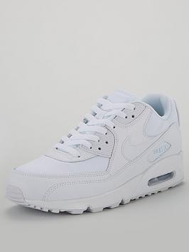 separation shoes eac2d 2a46a Nike Air Max 90 Essential - White