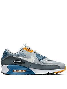 cheap for discount 91a7c dda94 Nike Air Max 90 Essential - Grey White