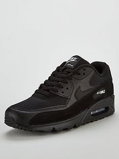 nike-air-max-90-essential-trainers-black