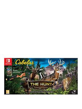 nintendo-switch-cabelas-the-hunt-championship-edition-switch