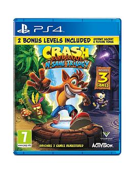 Playstation 4 Playstation 4 Crash Bandicoot N'Sane Trilogy 2.0 Picture
