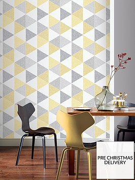 arthouse-scandi-triangle-wallpaper-ndash-yellow