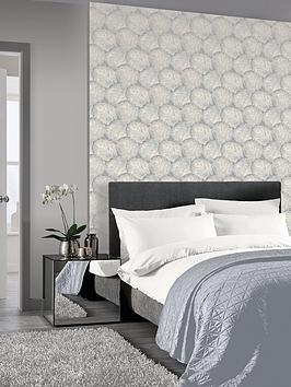 ARTHOUSE Arthouse Beech Leaf Wallpaper &Ndash; Dove Grey Picture