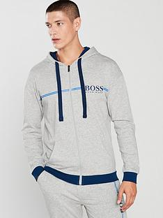 boss-authentic-hooded-lounge-top-grey