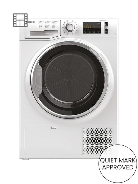 hotpoint-activecare-ntm1182xb-8kg-load-heat-pump-tumble-dryer-white