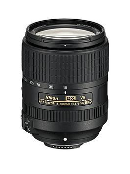 Nikon Nikon Af-S Dx Nikkor 18-300Mm F/3.5-6.3G Ed Vr Lens Picture