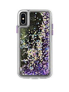 casemate-waterfall-snow-globe-effect-protective-case-in-purple-glow-iphone-xs-iphone-x