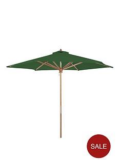 27m-wooden-parasol-green