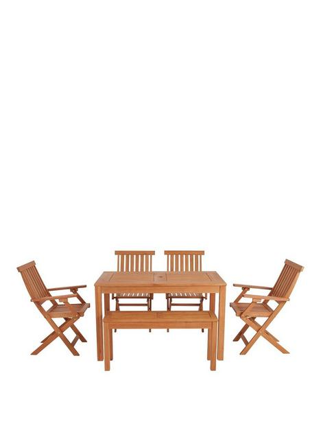 lingfield-wood-dining-set-with-picnic-bench-and-chairs
