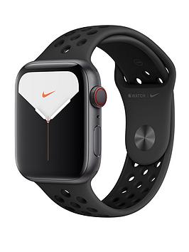Apple   Watch Nike Series 5 (Gps + Cellular), 44Mm Space Grey Aluminium Case With Anthracite/Black Nike Sport Band
