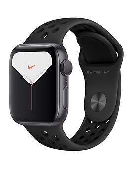 Apple Apple Watch Nike Series 5 (Gps), 40Mm Space Grey Aluminium Case With  ... Picture