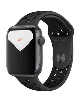 Apple   Watch Nike Series 5 (Gps), 44Mm Space Grey Aluminium Case With Anthracite/Black Nike Sport Band