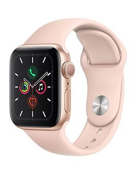 Apple Apple Watch Series 5 (Gps), 40Mm Gold Aluminium Case With Pink Sand  ... Picture