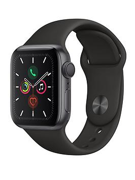 Apple Apple Watch Series 5 (Gps), 40Mm Space Grey Aluminium Case With  ... Picture