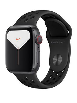 Apple Apple Watch Nike Series 5 (Gps + Cellular), 40Mm Space Grey  ... Picture