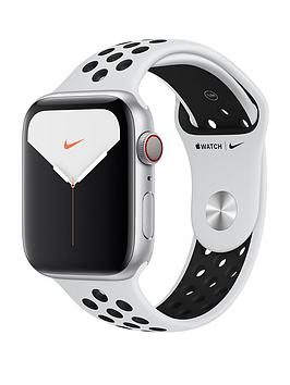 Apple Apple Watch Nike Series 5 (Gps + Cellular), 44Mm Silver Aluminium  ... Picture