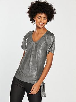 v-by-very-v-neck-knot-top-silver