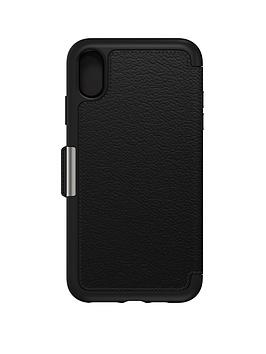otterbox-otterbox-strada-for-apple-iphone-xs-max-bold-sophistication-shadow-black-77-60132
