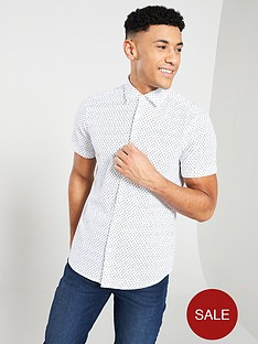 boss-casual-shortsleeve-print-shirt