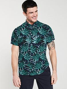boss-short-sleeve-palm-print-shirt-mint