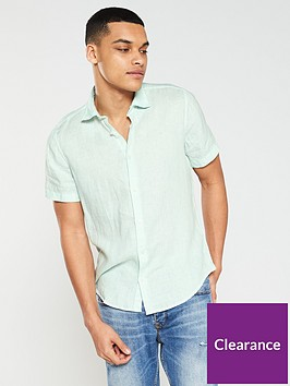 boss-casual-linen-mix-shirt-pistachio