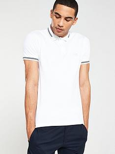 boss-athleisure-jersey-polo-shirt-white