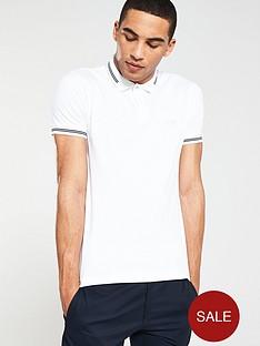 boss-athleisure-jersey-polo-shirt-white