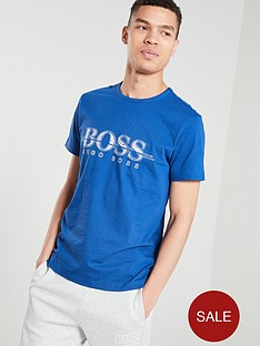 boss-athleisure-chest-logo-t-shirt-cobalt-blue