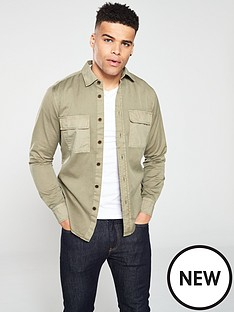 boss-casual-long-sleeved-shirt-beige