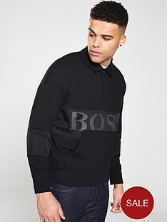 boss-casual-polo-sweater-black
