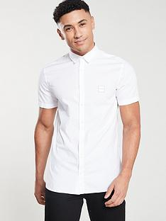 boss-casual-short-sleeve-shirt-white