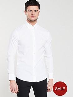 boss-casual-long-sleeve-shirt-white