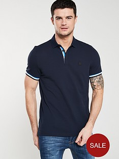boss-casual-tipped-sleeve-polo-shirt-navy