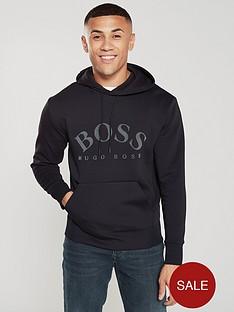 boss-athleisure-logo-hoodie-black