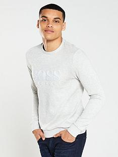 boss-athleisure-logo-sweatshirt-light-grey