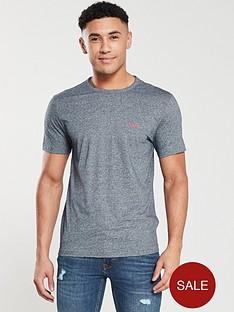 boss-athleisure-small-logo-t-shirt-navy-melange