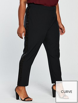 v-by-very-curve-sequin-trim-tapered-leg-trouser-blacknbsp