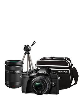 Olympus Olympus Om-D E-M10 Mk Iii Compact System Camera Traveller Kit  ... Picture