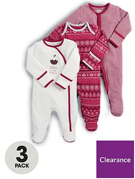 mamas-papas-3-pack-christmas-sleepsuits