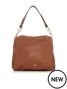 dune-london-danty-large-branded-slouch-bag-brown