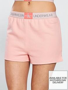 calvin-klein-monogram-sleep-shorts-peach
