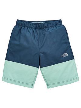 the-north-face-boys-class-v-shorts-blue