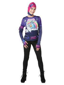 Fortnite Fortnite Adult Brite Bomber Top & Snood Picture