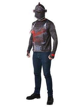 Fortnite Fortnite Adult Black Knight Top & Snood Picture