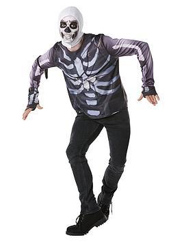 Fortnite Fortnite Tween Skull Trooper Top & Snood Picture